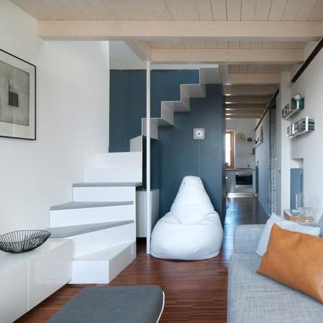 Milan Dental Studio Converted Into Compact Two Y