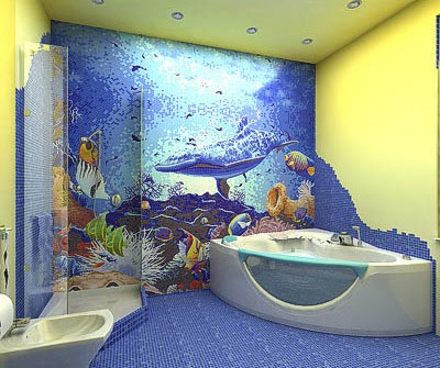 Sea Bathroom D 233 Cor Interior Designing Ideas