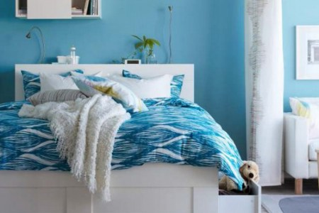 Bedroom trends for the year 2014 Contd     Interior Designing Ideas contemporary bedroom designs for girls in blue themed
