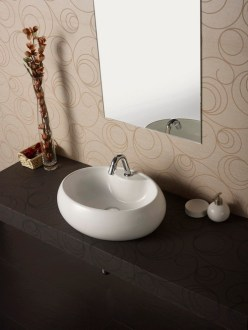 How to change the look of the washbasin     Interior Designing Ideas Table Top Platform Wash Basin