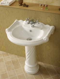 How to change the look of the washbasin     Interior Designing Ideas Wash Basin With Pedestal
