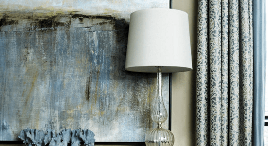 find the right art for a blue room