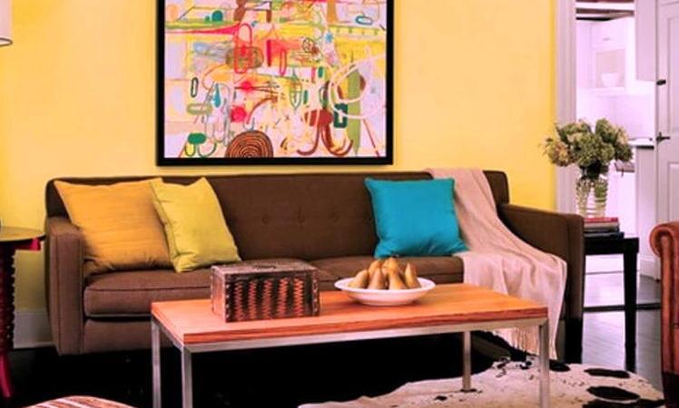 Lime-Yellow-Living-Room-idea