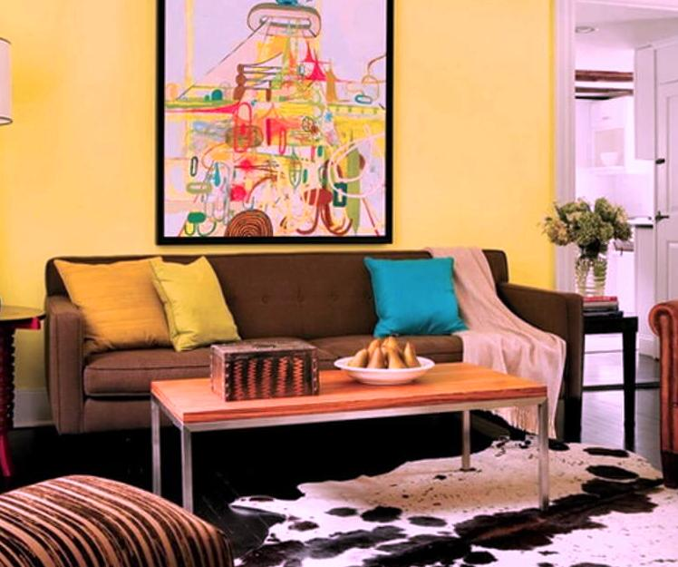 Lime-Yellow-Living-Room-idea