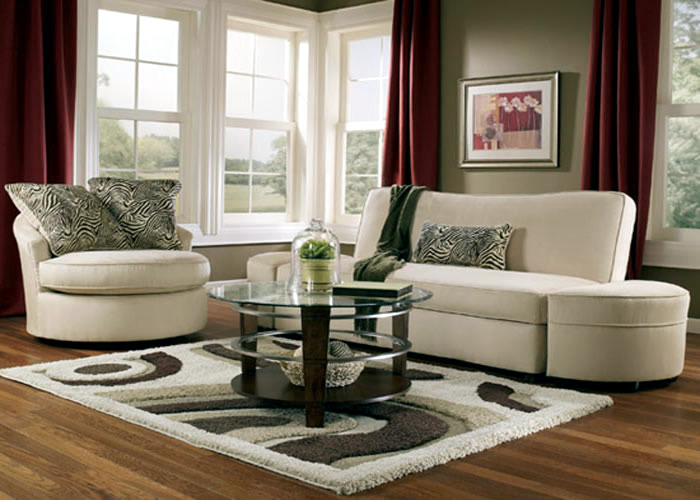 Divide The Living And Dining Space