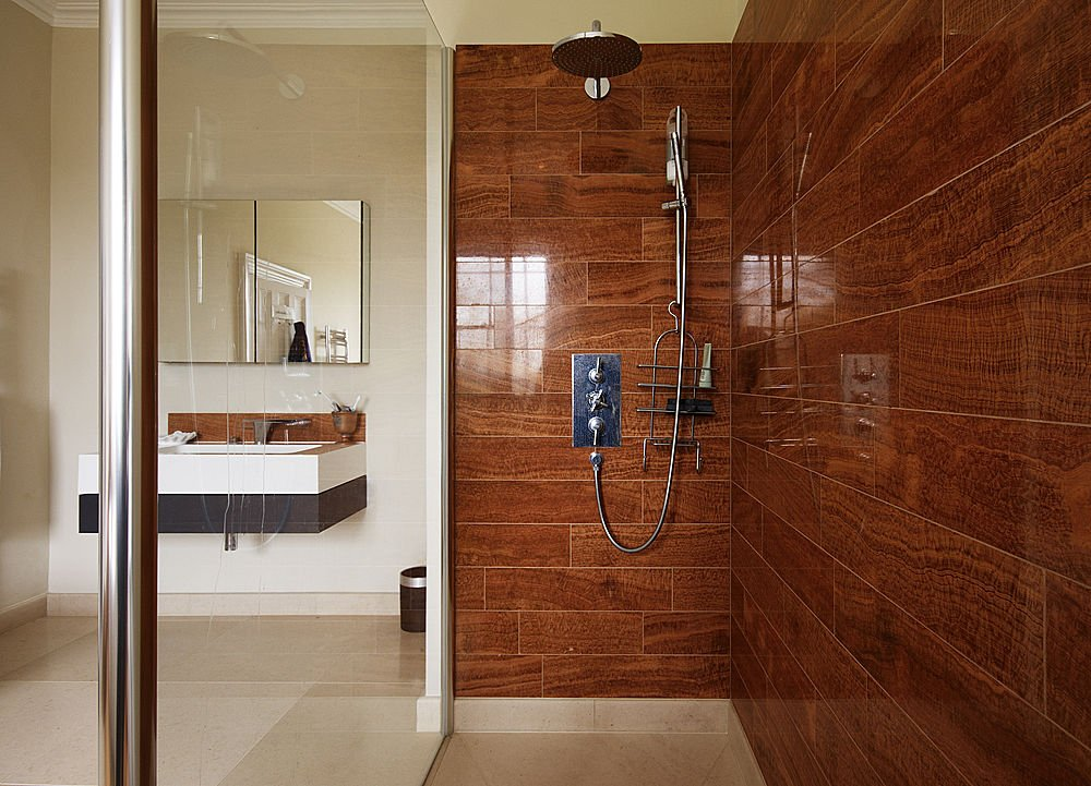 Interior Exterior Plan High End Bathroom Design In A