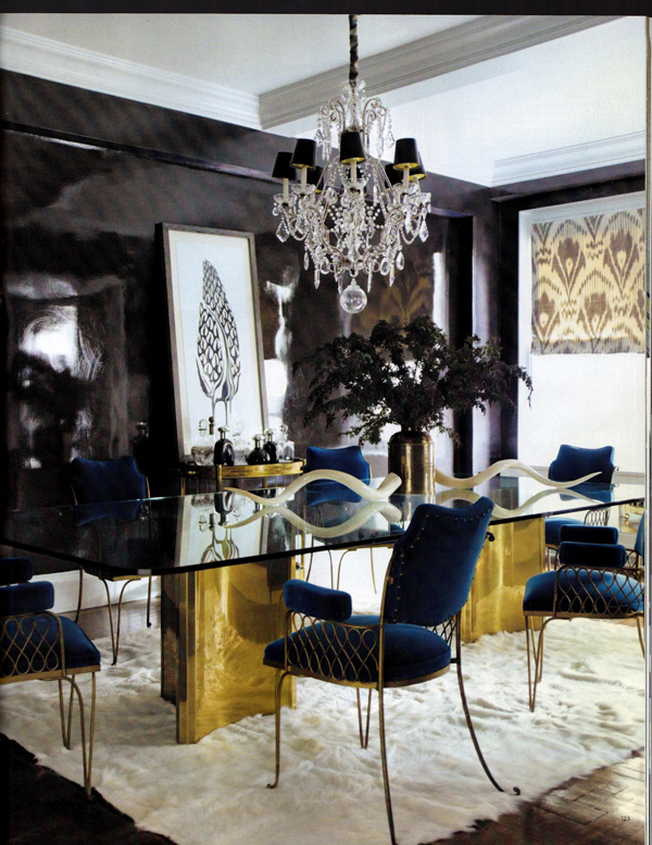 Dramatic Dining Room Design Ideas