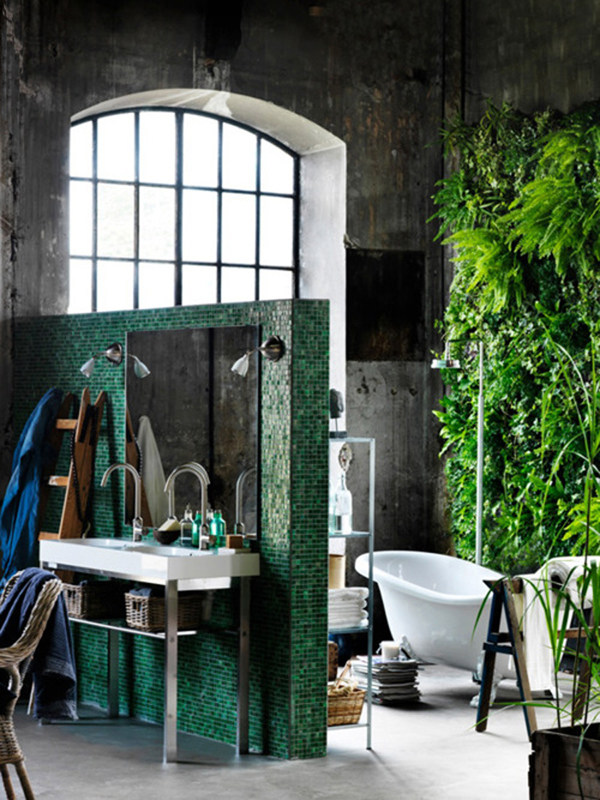 Industrial Chic Bathroom Design Ideas