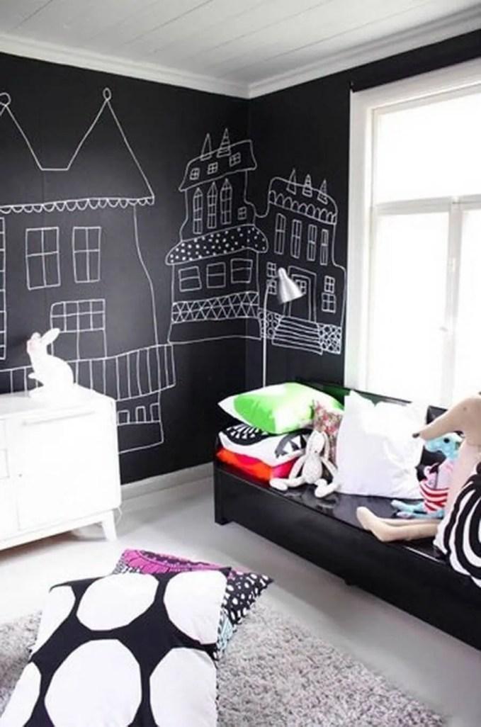 7b-unisex-boys-girls-kids-room-childrens-bedroom-childs-black-white-blackboard-chalkboard-paint