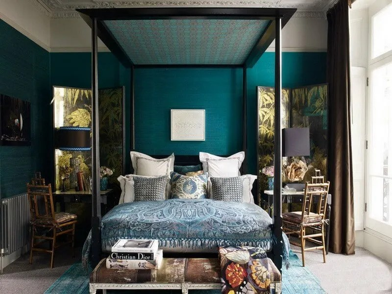Dark Blue And Brown Bedroom 10 amazing blue bedroom interior design ideas - https