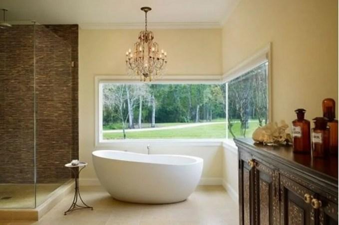 Classy Natural Bathroom