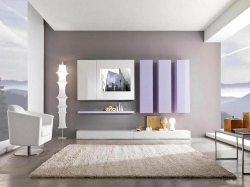 Contemproary Gray Living Room