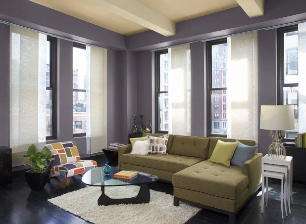 Fancy Purple Living Room