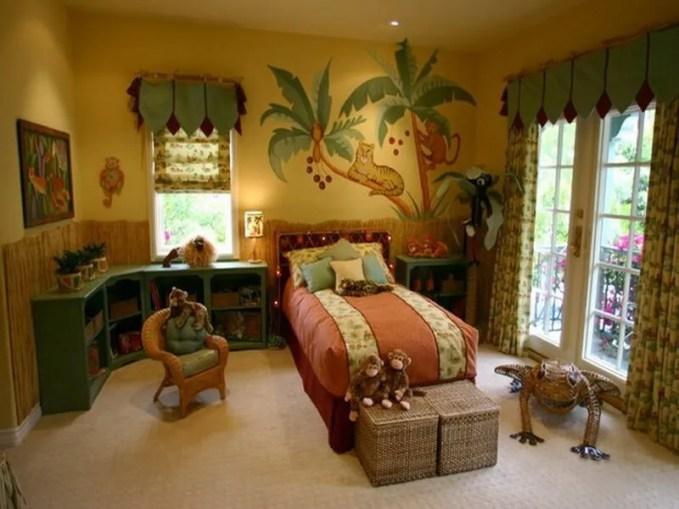 Funny-Jungle-Murals-in-Kids-Bedroom