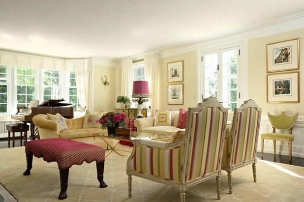 Light Yellow Living Room