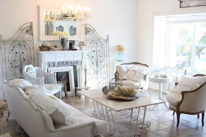 Shabby Chic Living Room Design