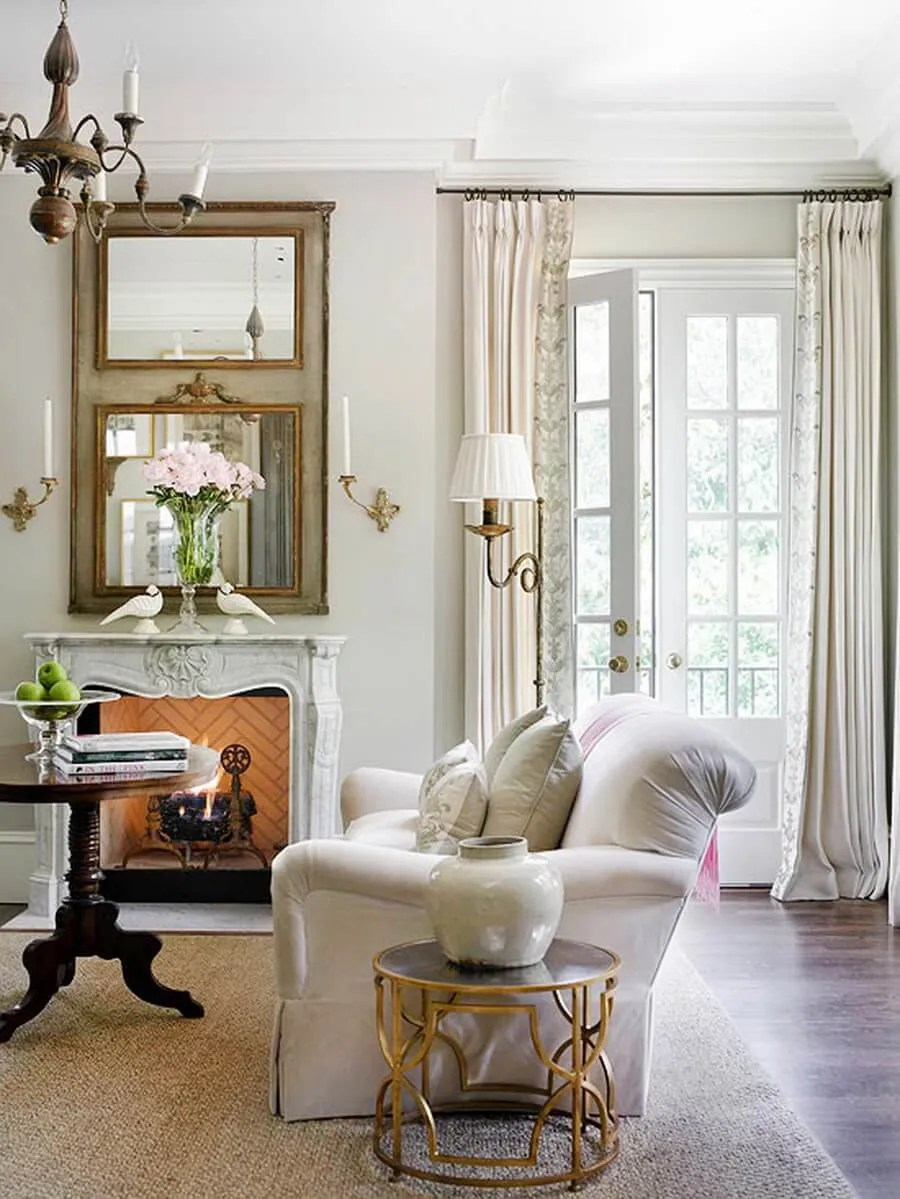 10 serene neutral living room interior design ideas for Neutral interior decorating