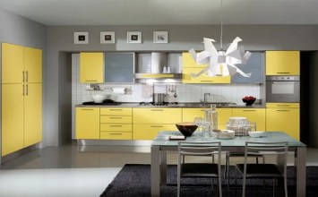 10 Fresh Yellow Kitchen Interior Design Ideas