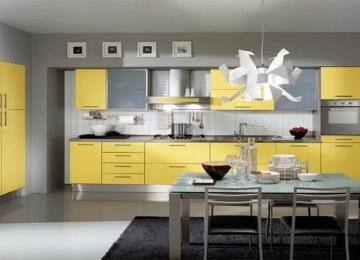 10 Fresh Yellow Kitchen Interior Design Ideas