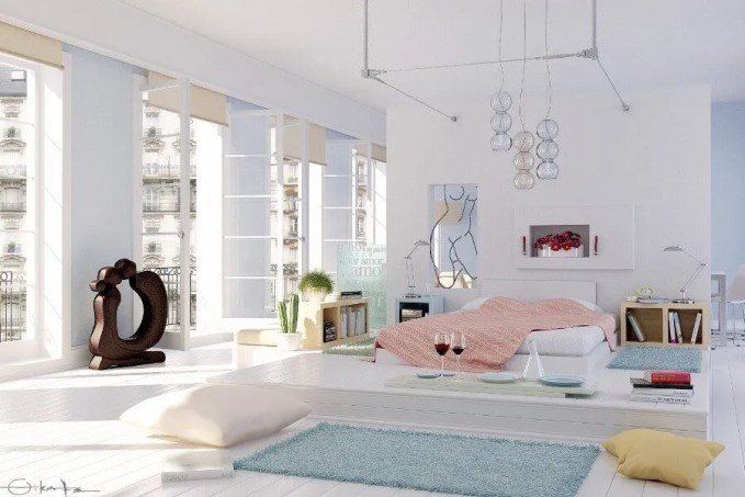 Chic Airy Bedroom