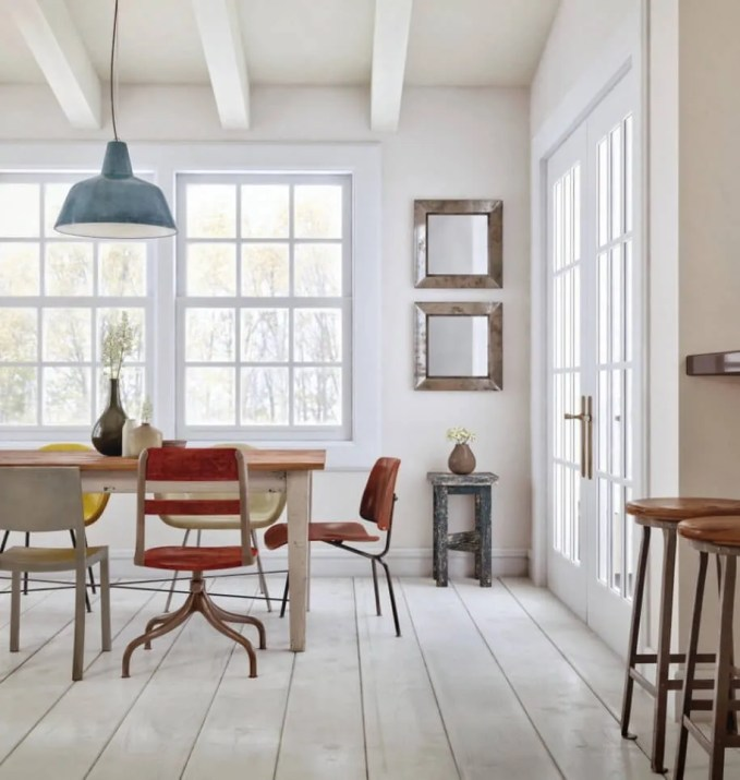 Cool Eclectic Dining Room