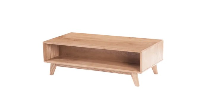Cool Oak Coffee Table
