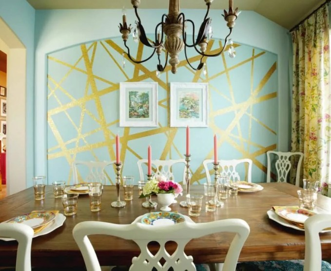 Elegant Eclectic Dining Room
