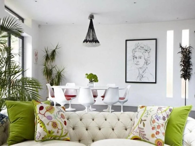 Neo Victorian Eclectic Living Room