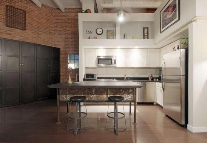 Tall Industrial Kitchen