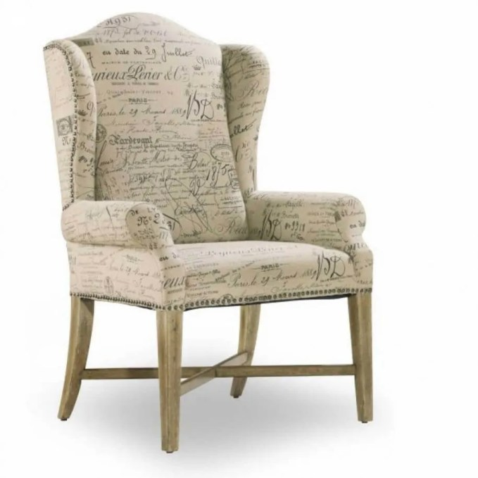 Upholistered Wingback Chair