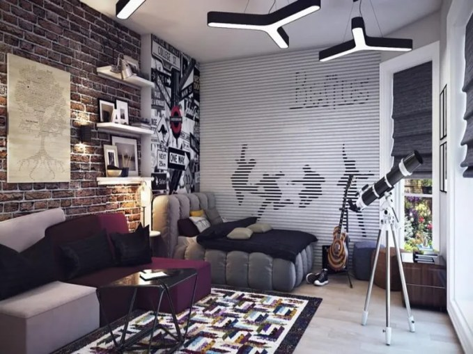 modern-furnishings-combined-with-exposed-brick-wall-for-boys-bedroom-948x533