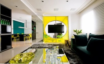 10 Sunny Yellow Interior Design Ideas