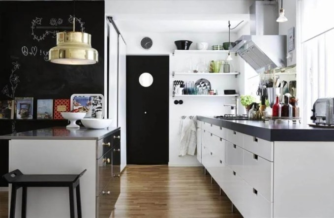 Cool Scandianvian Kitchen