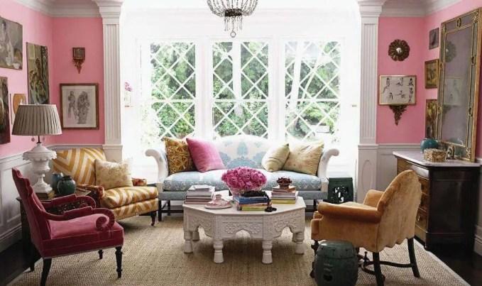 Cute Boho Chic Living Room