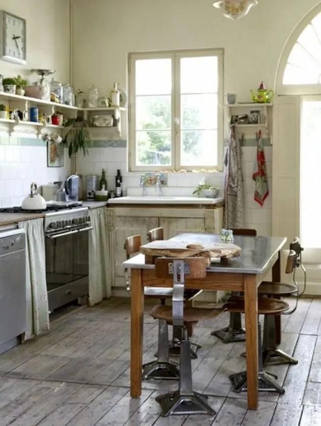 Rustic Indsutrial Kitchen