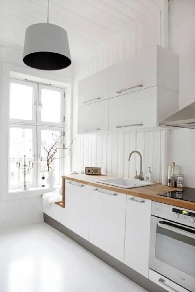 Serene Scandianvian Kitchen
