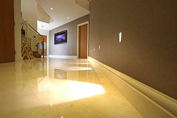Spacious Contemporary Hallway