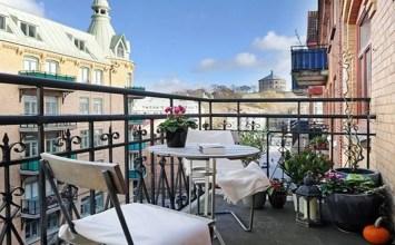 10 Charming Small Balcony Decoration Ideas