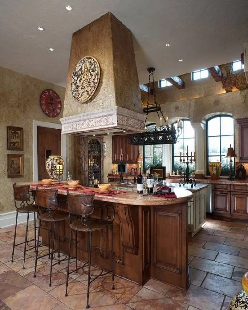 Mediterranean Kitchen Decor - Amazing mediterranean kitchen design
