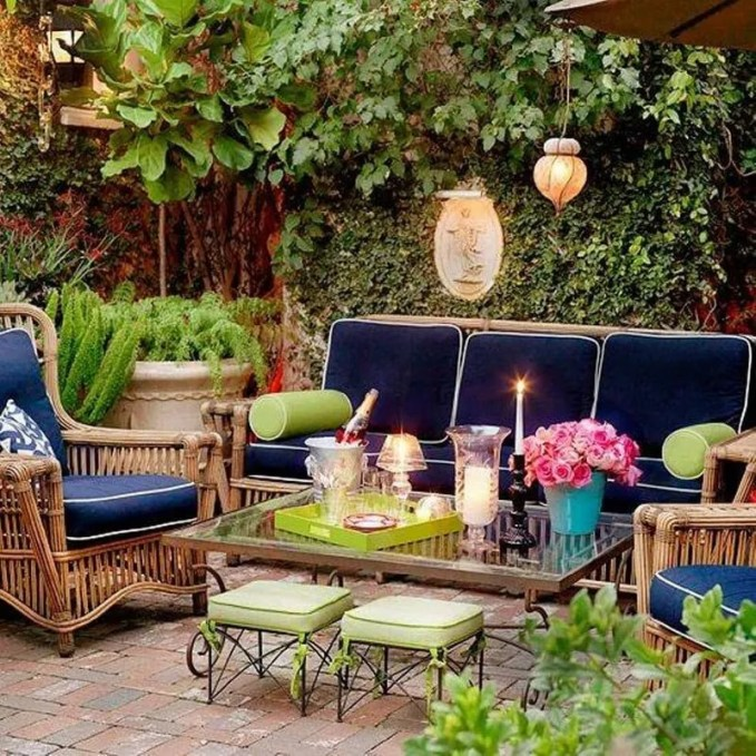patio-ideas-with-furniture-and-brick-flooring