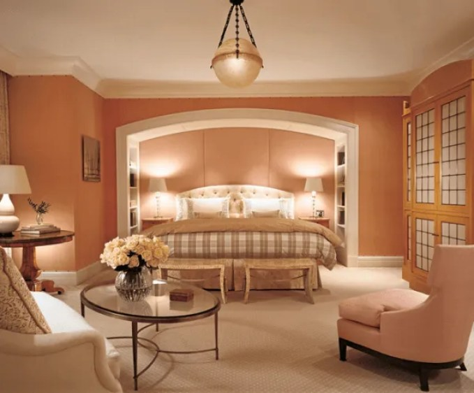 10 Beautiful Coral Peach Interior Design Ideas