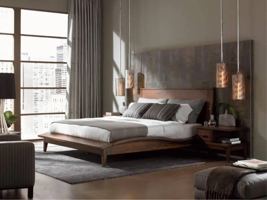 Industrial Bedroom 10 bold industrial bedroom interior design idea - https