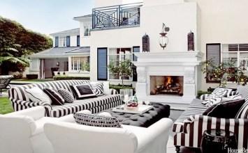 10 Gorgeous Black and White Patio Design Ideas