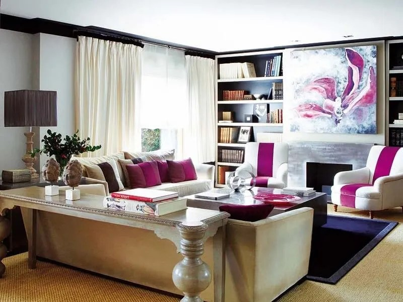 10 captivating interior design ideas with fuchsia accents for Fuschia bedroom ideas