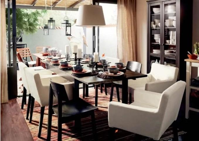 Classy Ikea Dining Room