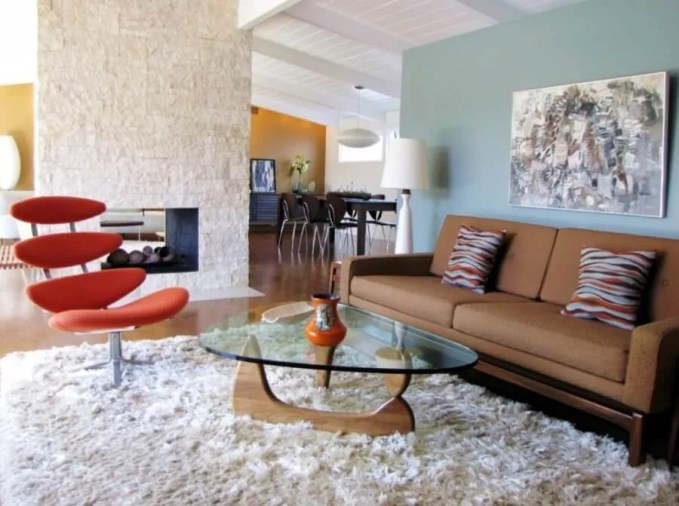 Cool Mid Century Living Room