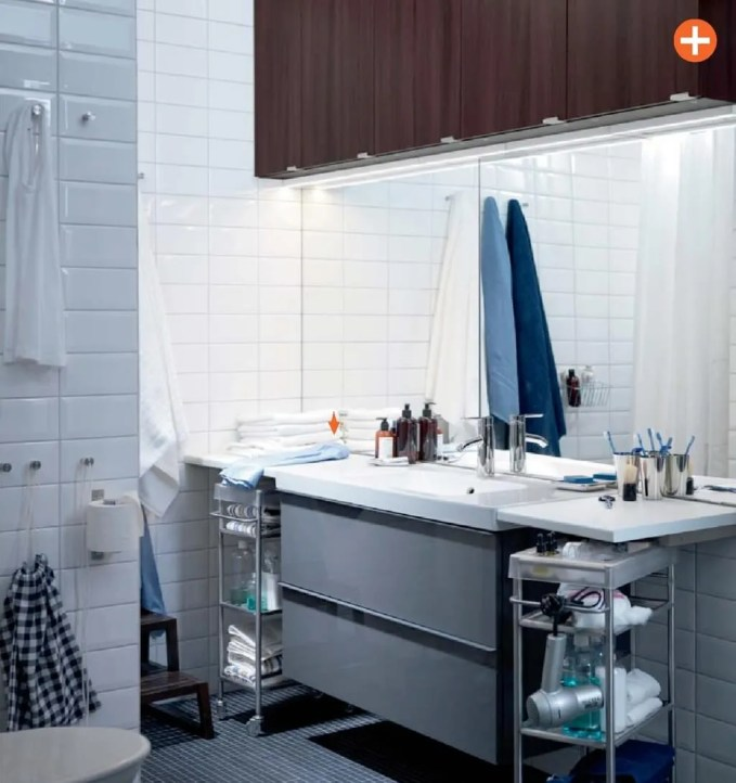 Masculine Ikea Bathroom