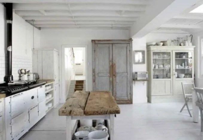 Awesome Scandinavian Rustic Kitchen