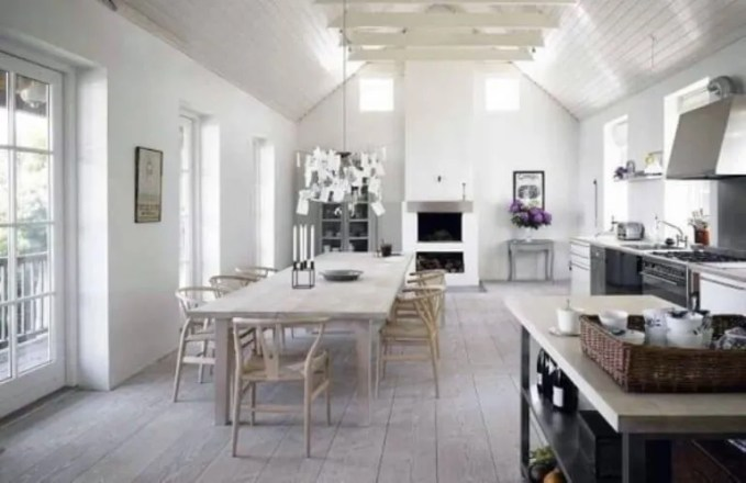 Beautiful Scandinavian Rustic Kitchen-
