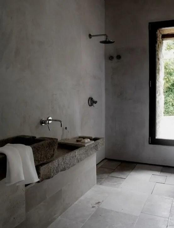 Bold Indsutrial Bathroom